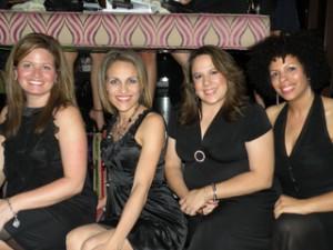Andrea, me, Lori, Liz strikin' a pose