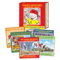 Jr. Adventure book set