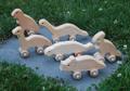 Wheeled Dinosaur Set