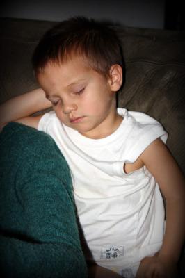 sleeping noah 2