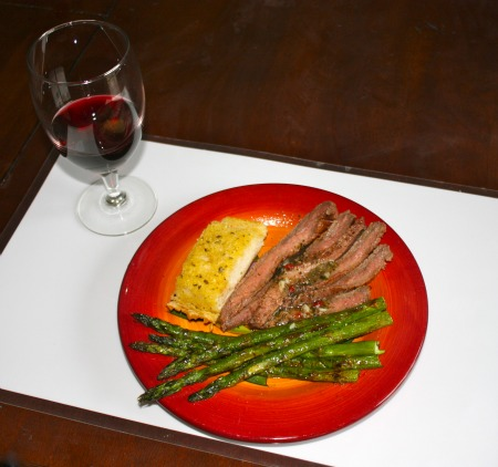 flank steak marinade lime cilantro