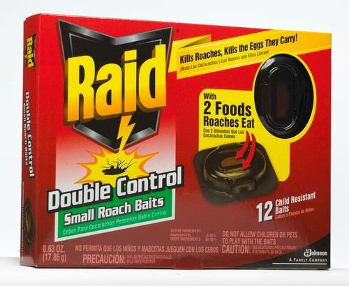 RaidDoubleControlRoachBaits