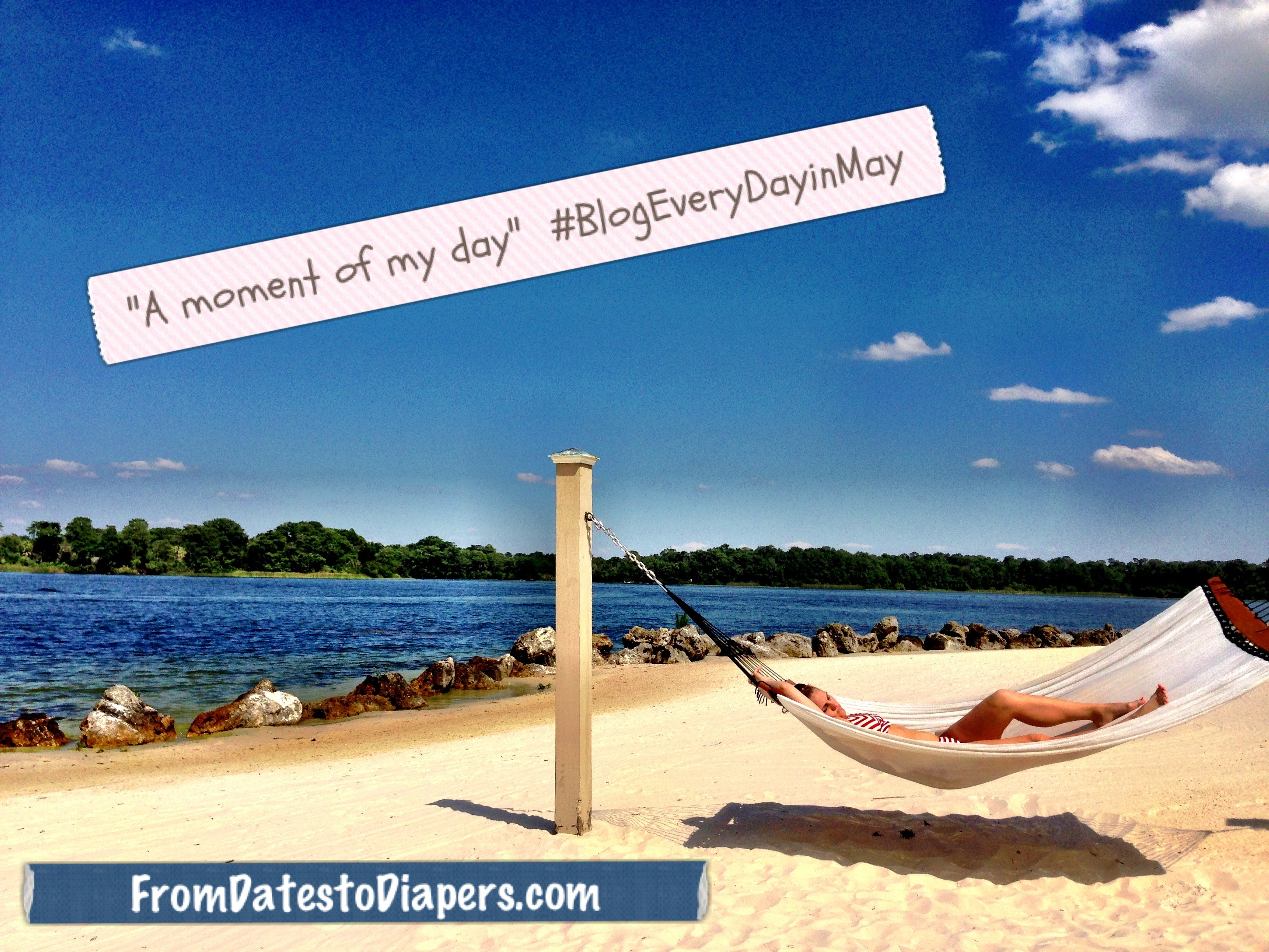 A Moment Of My Day {#BlogEveryDayinMay}