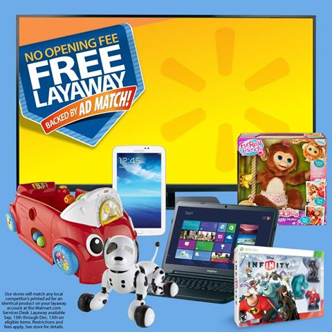 Take Advantage of Early Layaway at Walmart for the Holidays