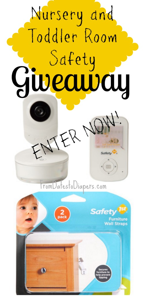 Nursery Safety :: #Safety1st {Giveaway}