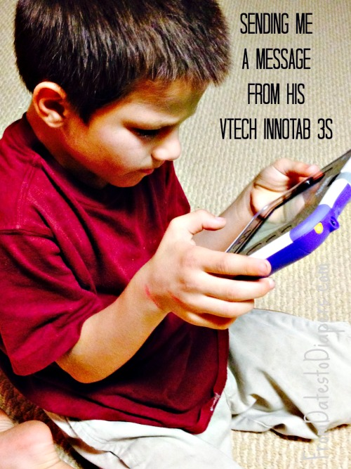 message from the Vtech InnoTab 3s