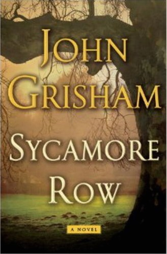 Book review: 'Sycamore Row' by John Grisham