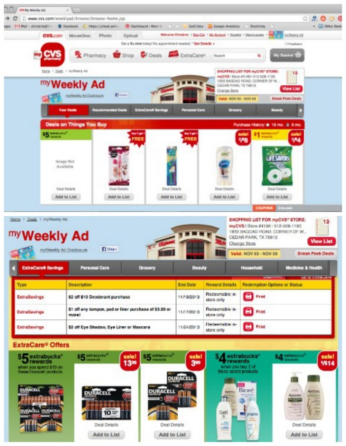 CVS/pharmacy myWeekly Ad