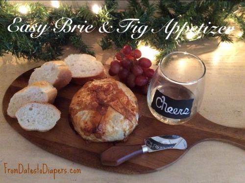 Easy Brie & Fig App