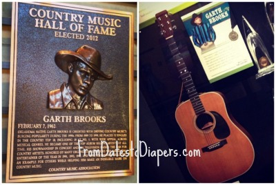Garth Brooks Country Music Hall of Fame