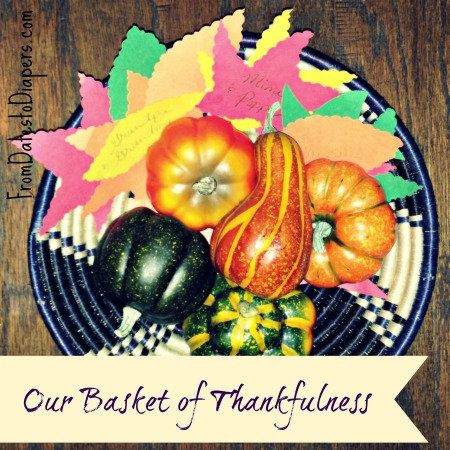 basket of thankfulness