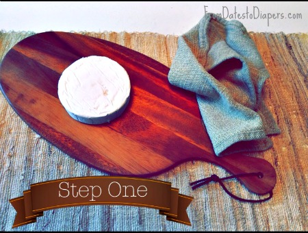 Easy Brie & Fig App step 1