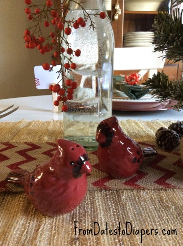 Better Homes & Gardens red bird salt and pepper shakers