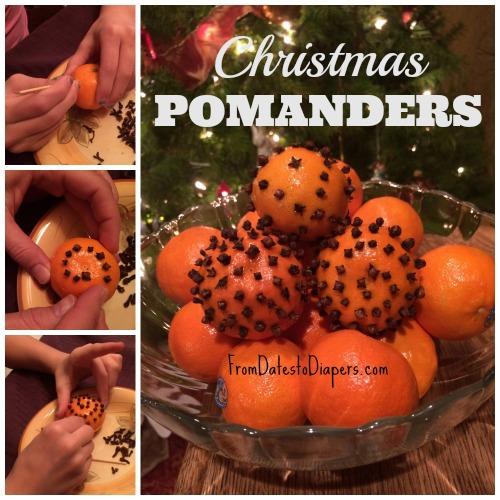 Mandarin Pomanders