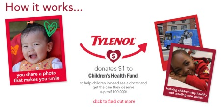 Smiling it Forward with Tylenol