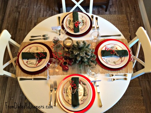 Tablescape on a budget