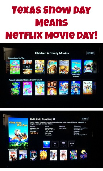 Movie Day with Netflix