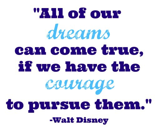 dreams courage