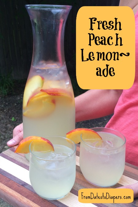 Fresh Peach Lemon-Ade