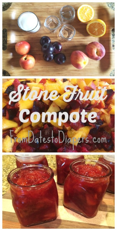 Stone Fruit Compote recipe