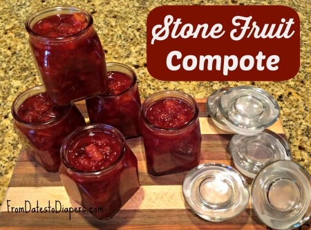 Stone Fruit Compote