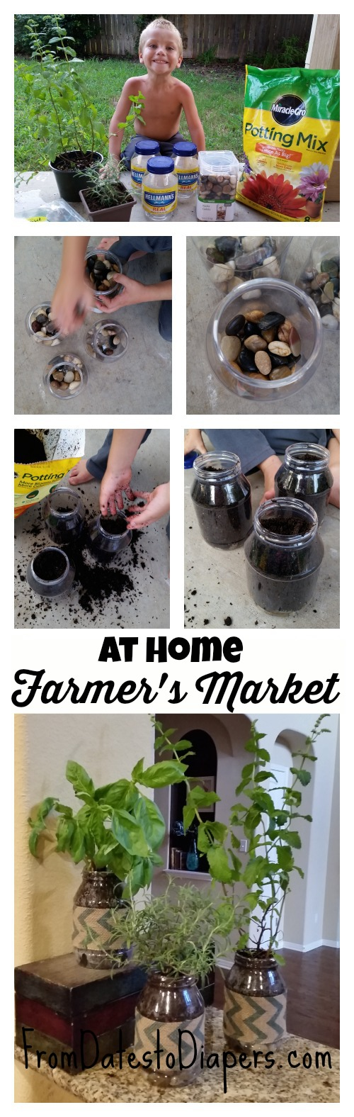 how to make your own farmer's market