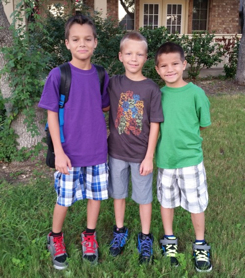 1st day of school - younger kids