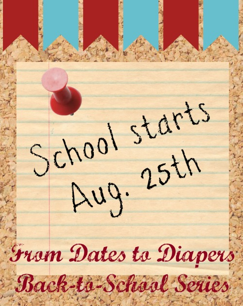 From Dates to Diapers Back-to-School