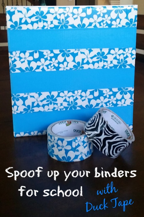 spoof up your binders and notebooks