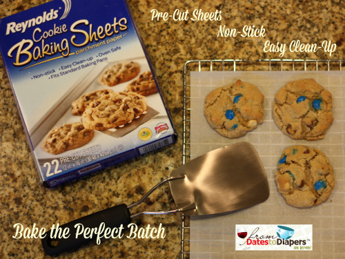 Bake the Perfect Batch with Reynold's Cookie Baking Sheets