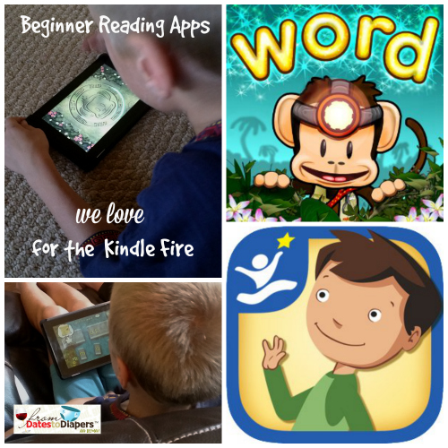 Beginner Reading Apps for the Kindle Fire