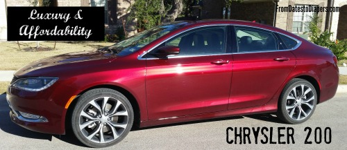 Luxury and Affordability {Chrysler 200s Review}