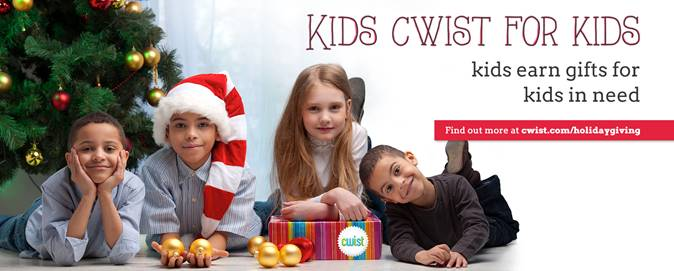 Kids CWIST for Kids #GivingTuesday